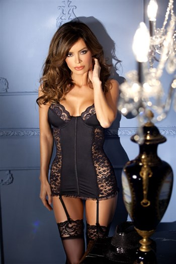 Image of Bodyhugging Chemise