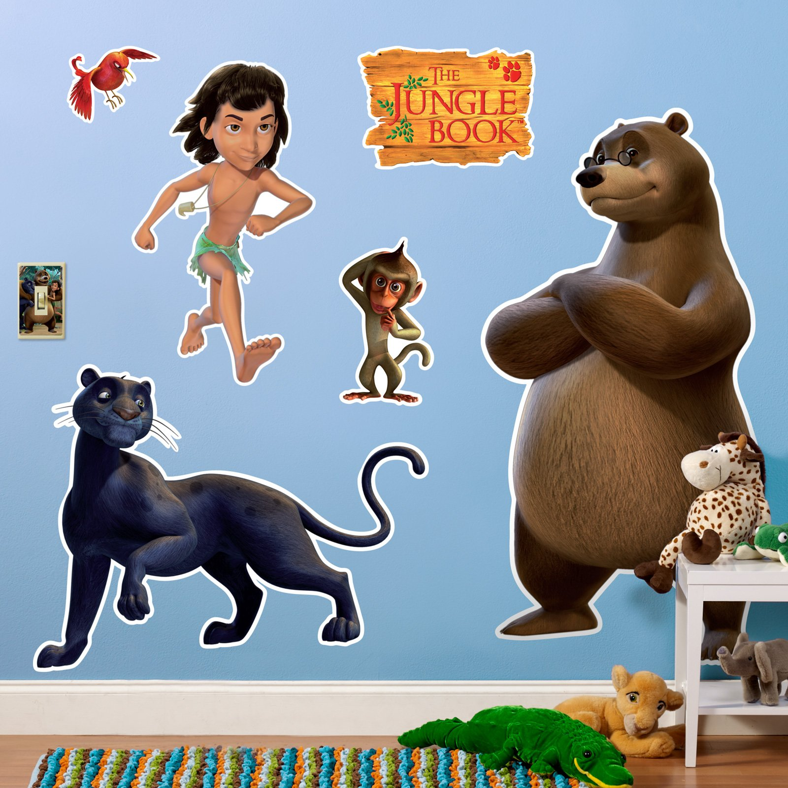 The Jungle Book Giant Wall Decals