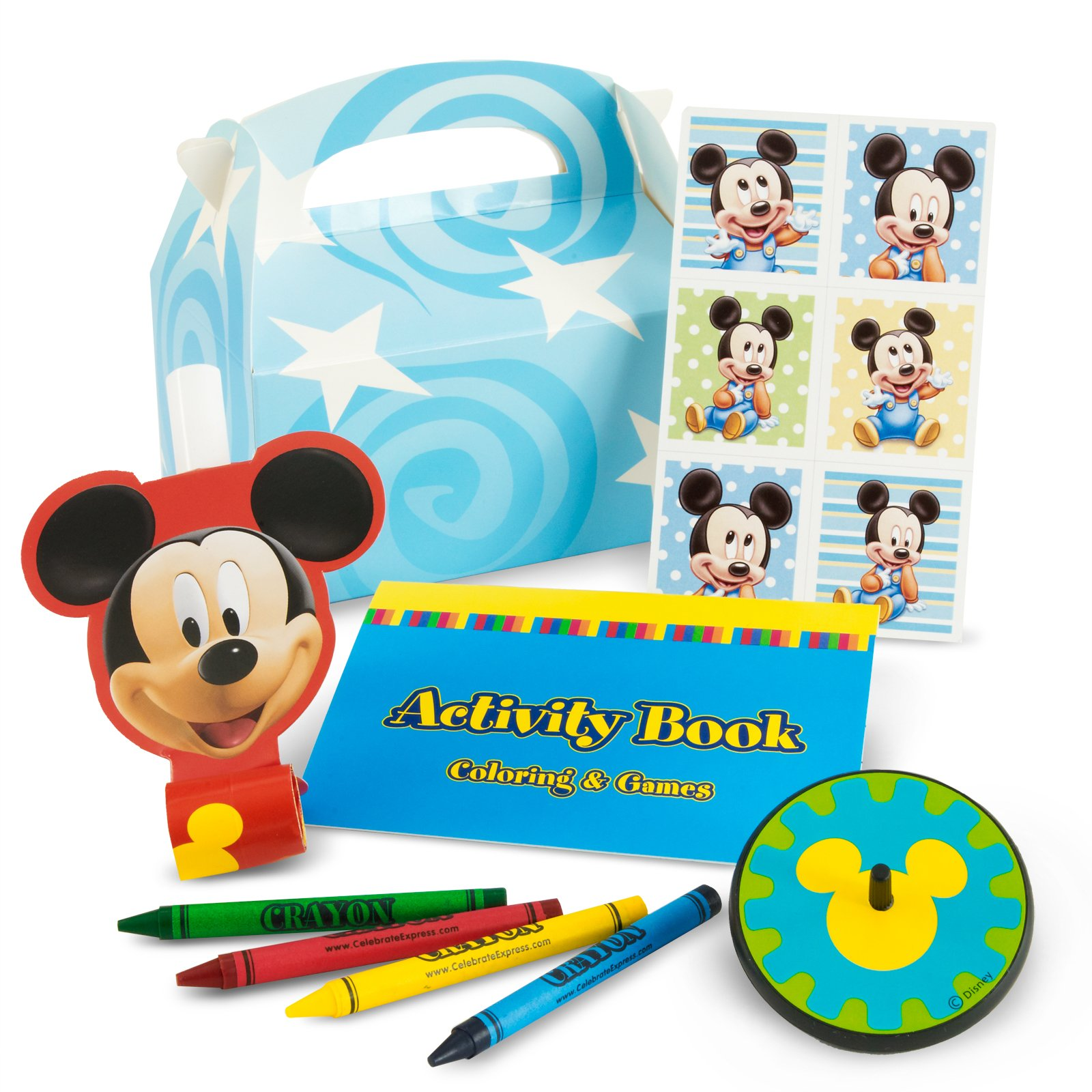Mickey's 1st Birthday Party Favor Kit