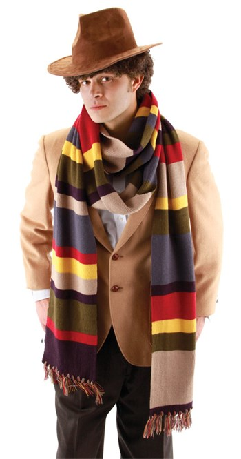 Image of 4Th Doctor Dlx Long Scarf 12Ft