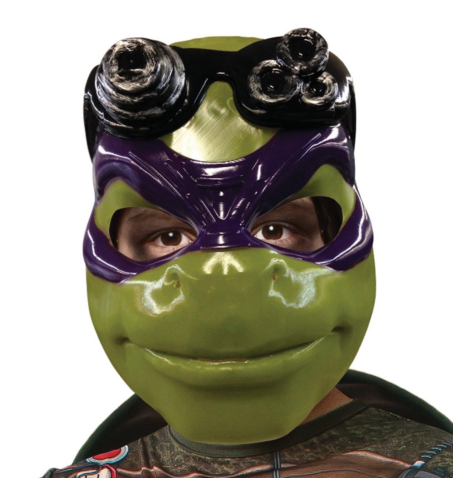 Teenage Mutant Ninja Turtle Movie Donatello Adult 3 4 Mask