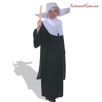 Sister Flighty Hat & Hood  Adult Costume