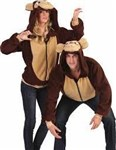 Morgan the Monkey Hoodie Adult Costume