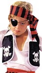 Pirate Child Vest Costume