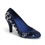 RAVISH-08SQ, Sequins Pump Shoes