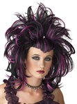 Wig Evil Sorceres Black Purple