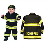 Personalized Jr. Fire Fighter Infant Costume