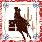 Western Lasso Cowgirl Lunch Napkins