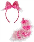 Disney - Cheshire Cat Ears and Tail Set Adult
