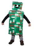 Green Pixel Monster Child Costume