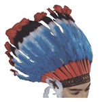 Headdress deluxe native american costume