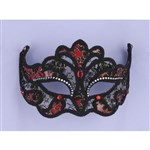 Masquerade Half Mask With Lace
