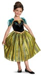 Disney Frozen Anna Coronation Gown Deluxe Child Costume