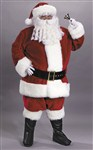 Santa Suit Premium Plush Costume