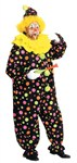 Neon Dotted Clown Full Size Costume